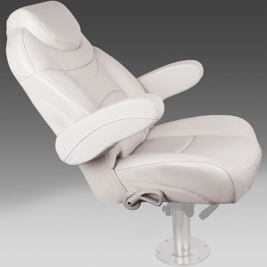 pontoon captain chair pontoon recliner ivory cebe be b ab fad x
