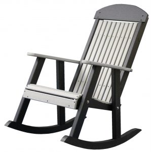 porch rocking chair luxcraft poly porch rocking chair