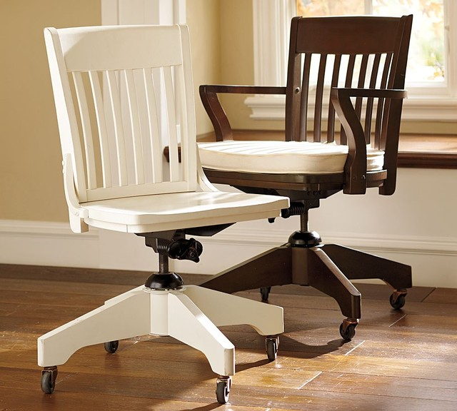 pottery barn desk chair