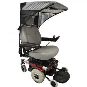 power chair accessories adult wheelchair canopy