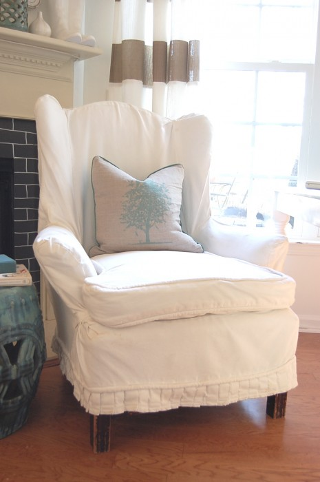 Gentil Queen Anne Chair Slipcovers