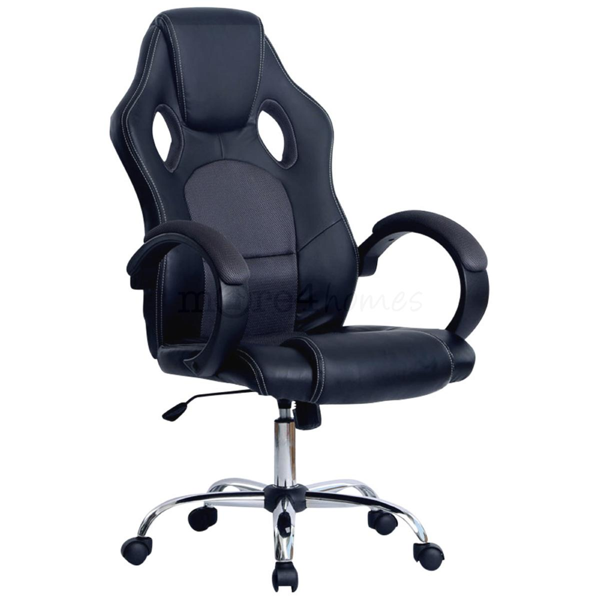 racing desk chair prix gray pic