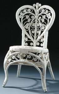 rattan wicker chair antique wicker chair