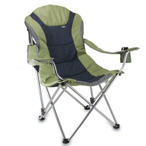 reclining camping chair n flipped chair