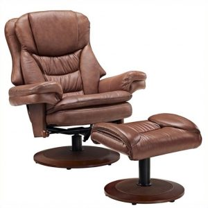 reclining chair with ottoman l