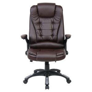 reclining desk chair ch brown pic