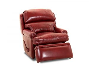 red leather recliner chair american made red leather recliner comfort design classic club