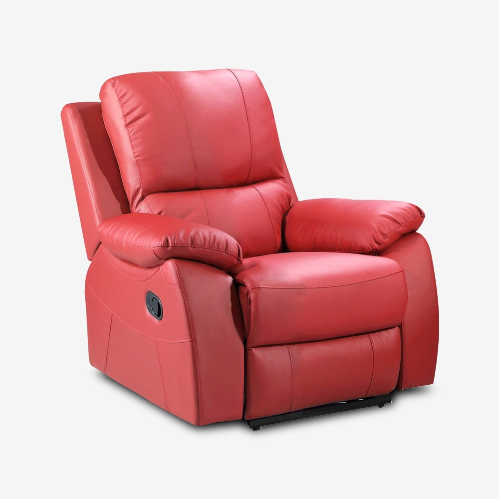 red leather recliner chair cameo red manual