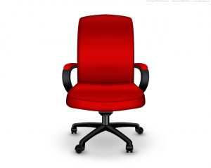 red office chair red office chair icon