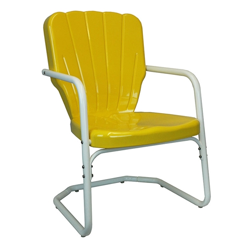 retro lawn chair