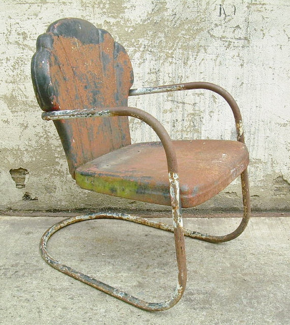 retro lawn chair il xn slh