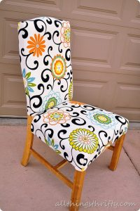 reupholster a chair how to upholster a chair
