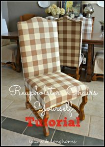 reupholster a chair reupholstery tutorial
