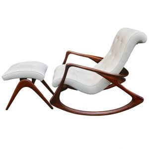 rocking chair with ottoman l