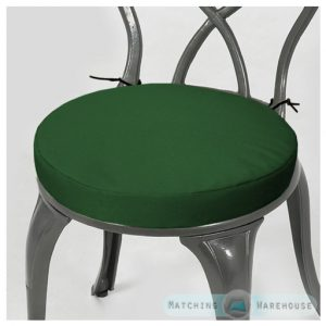 round bistro chair cushion g chair green