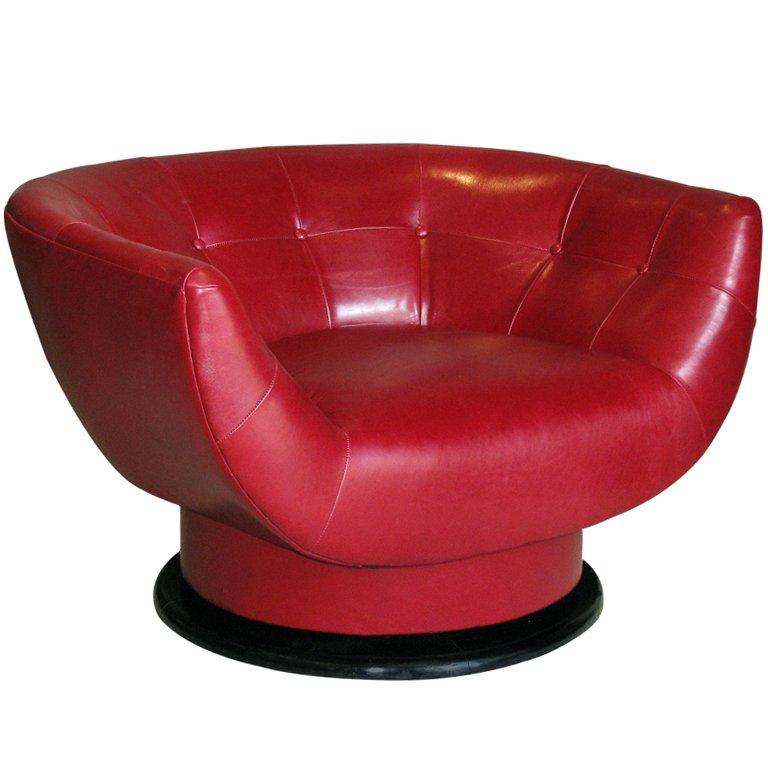 round swivel chair