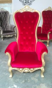 royal chair rentals kingschairredgold
