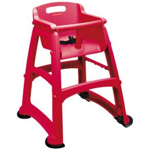 rubber maid high chair rubbermaid red sturdy high chair