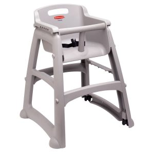 rubber maid high chair rubbermaid fgplat platinum sturdy chair restaurant high chair with wheels