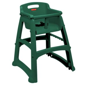 rubber maid high chair rubbermaid fgdgrn green sturdy chair restaurant high chair without wheels ready to assemble