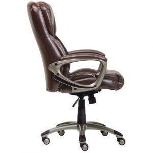 serta executive office chair serta at home eliza executive office chair