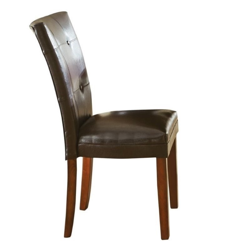 silver dining chair