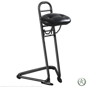 sit stand chair ergocentric sit stand ii standing stool