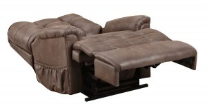 sleep chair recliner stch stampede chocolate sleeperposition