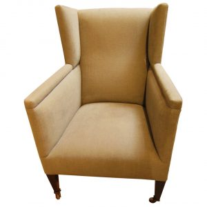 small wingback chair l