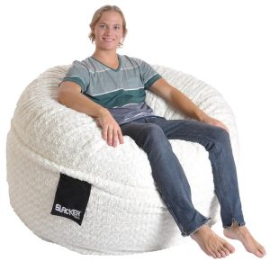 soft bean bag chair slacker sack foot round large soft white fur foam bean bag chair afdbd d fad ac b