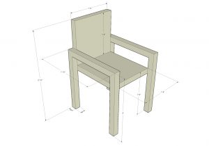 standard chair dimensions sketchup armchairdimensions