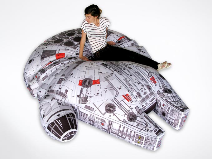 star wars bean bag chair star wars millennium falcon bean bag