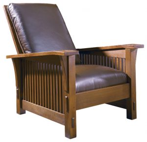 stickley morris chair craftsman chairs