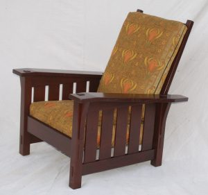 stickley morris chair gustav stickley replica large slant arm morris chair