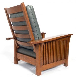 stickley morris chair missionarmchair l