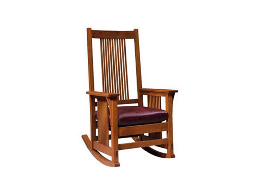 stickley rocker chair f r spinrocker o s