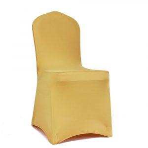 stretch chair covers meijuner pcs universal shiny lycra stretch chair cover spandex slipcovers dining chair seat cover for wedding christmas party banquet home decoration gold hires