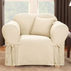 sure fit slipcover chair logan chair natural