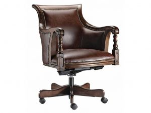 swivel desk chair classic oak wood swivel desk chair
