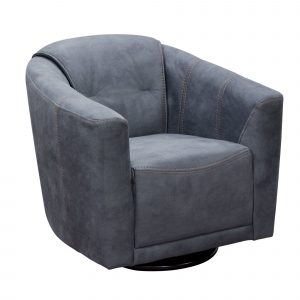 swivelling tub chair murphy swivel accent chair in light grey fabric by diamond sofa murphychgr