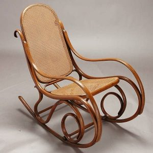 thonet rocking chair l
