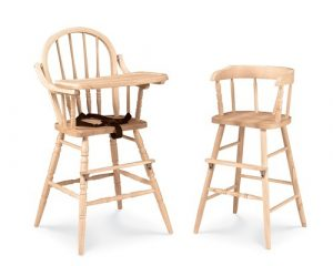 toddler high chair high chair toddler chair from unfinished wood furniture store