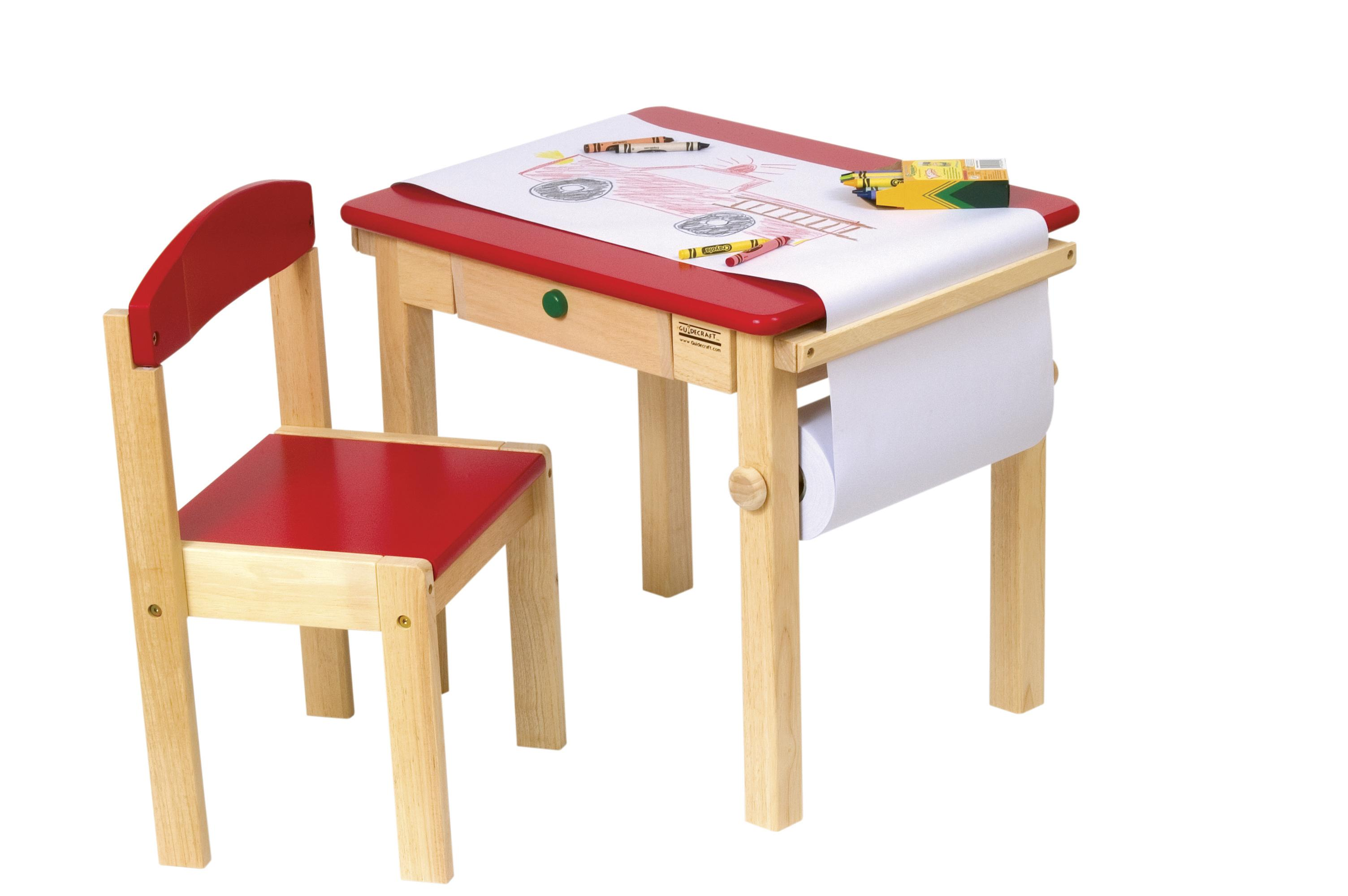 Toddlers Chair And Desk Set