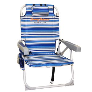 tommy bahama beach chair tb backpack blue
