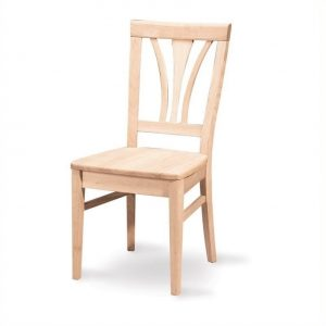 unfinished kitchen chair l