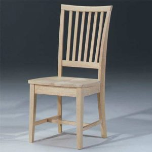 unfinished kitchen chair