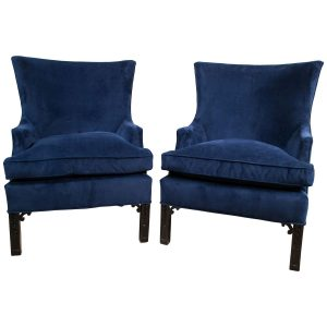 velvet club chair z