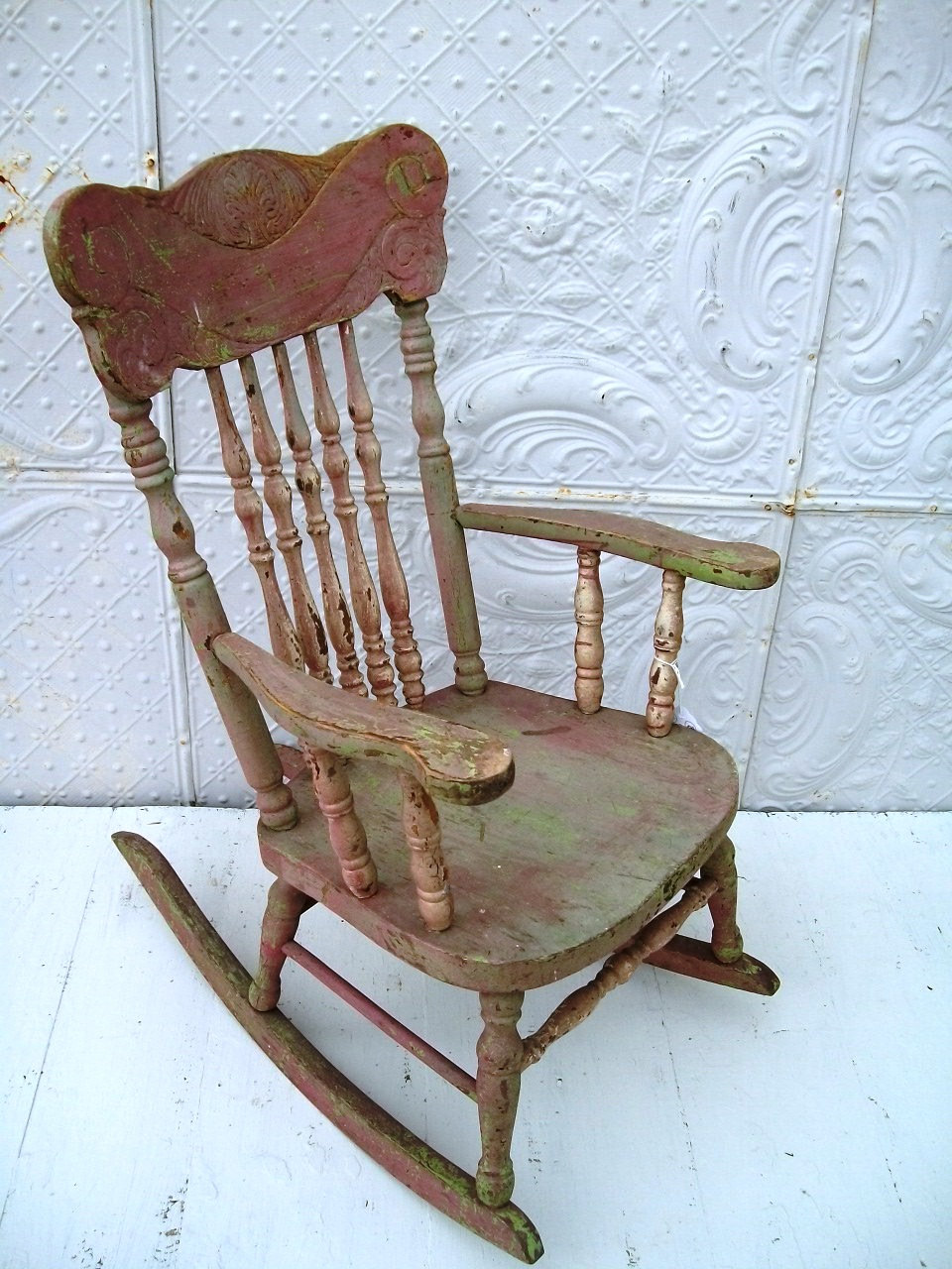 Superbe Vintage Rocking Chair