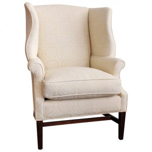 vintage wingback chair l