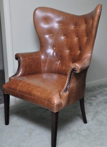 vintage wingback chair il fullxfull
